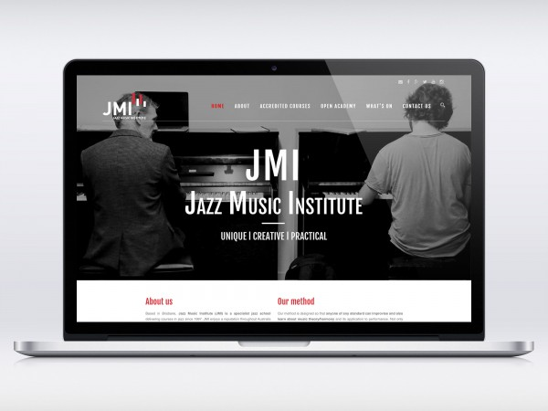 Website for Jazz Music Institute