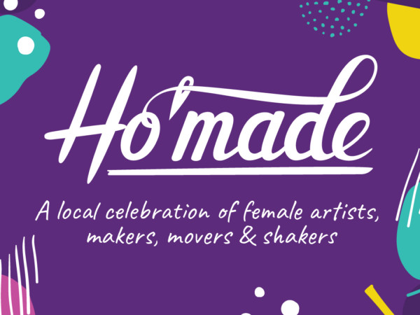Branding and promotional materials for Ho'made
